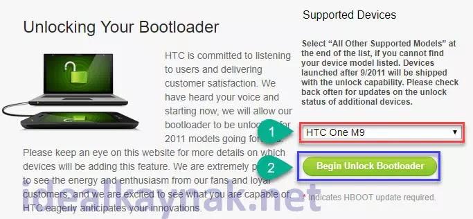 HTC Cihazlarda Bootloader Kilidi Kaldırma
