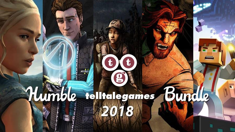 telltale humble bundle games 2018