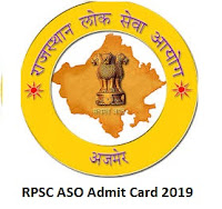 RPSC ASO Admit Card