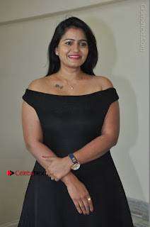 Telugu Actress Swathi Reddy Latest Stills in Black Gown  0019.JPG