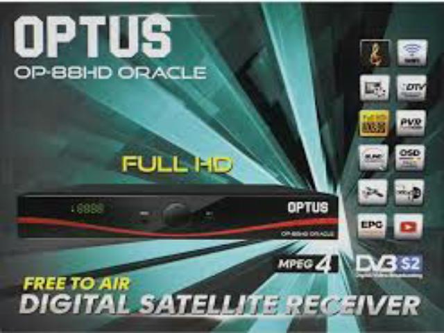 Spesifikasi dan Harga Receiver Optus OP-88 HD Oracle