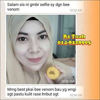 bee venom moisturiser repair skin