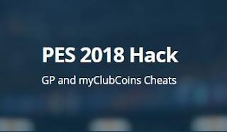 PES 2018 Cheat myClubCoins dan GP - Tips Cepat Bermain PES 2018
