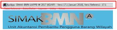 Update Aplikasi dan Referensi SIMAK-BMN W 17.1