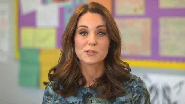 Filmik z udziałem księżnej Kate z okazji Children's Mental Health Week + więcej