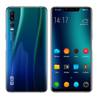 Elephone A5 – Five Camera Smartphone with MediaTek, MTK6771 Helio P60, Specifications & Features