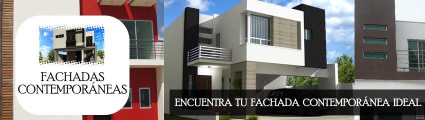 Decoraci n minimalista y contempor nea fotos de fachadas for Fachadas de casas con azulejo