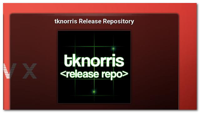 Tknorris Release Repository