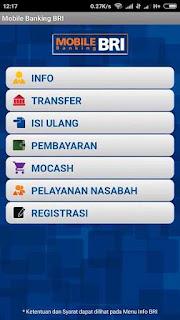 Info Saldo Mobile Banking BRI