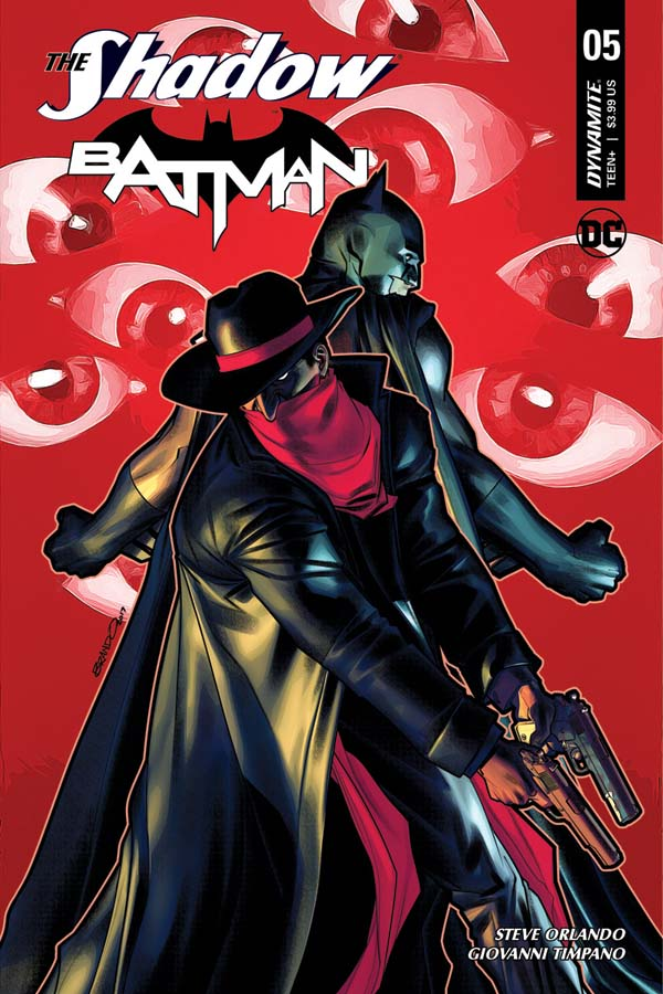 Weird Science DC Comics: The Shadow/Batman #5 Review and