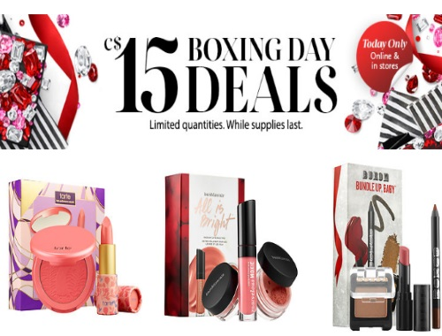 Sephora Boxing Day $15 Deals