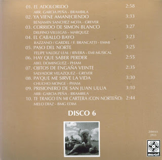 Antonio Aguilar - Mi Historia Disco 06