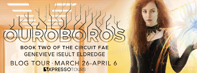 Ouroburos, Circuit Fae, Genevieve Iseult Eldredge, Blog Tour