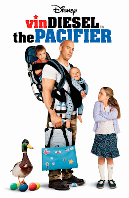 Poster Of The Pacifier (2005) Full Movie Hindi Dubbed Free Download Watch Online At worldfree4u.com