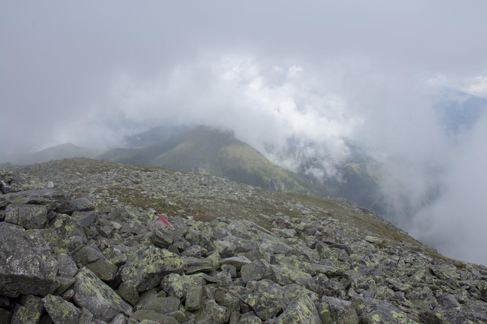 Wanderung vom Ingeringgraben über den Schmähhausrücken auf den Hochreichart. - Nebel