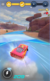 Cars: Lightning League Apk - Free Download Android Game