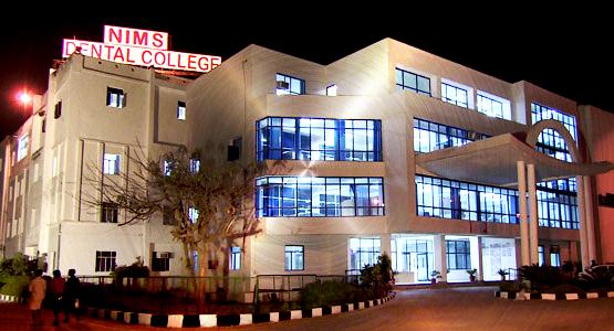 Nims Dental College and Hospital, Jaipur
