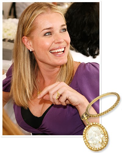 Celebrity Wedding And Engagement Rings: Non Traditional Celebrity Engagement Rings