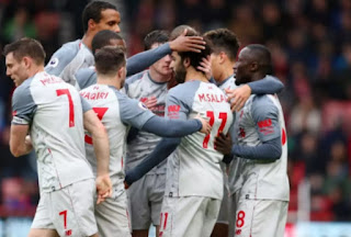 Mohamed Salah was the star of the show with a hat-trick as Liverpool thrashed Bournemouth 4-0 away from home to go top of the Premier League for at least a few hours.