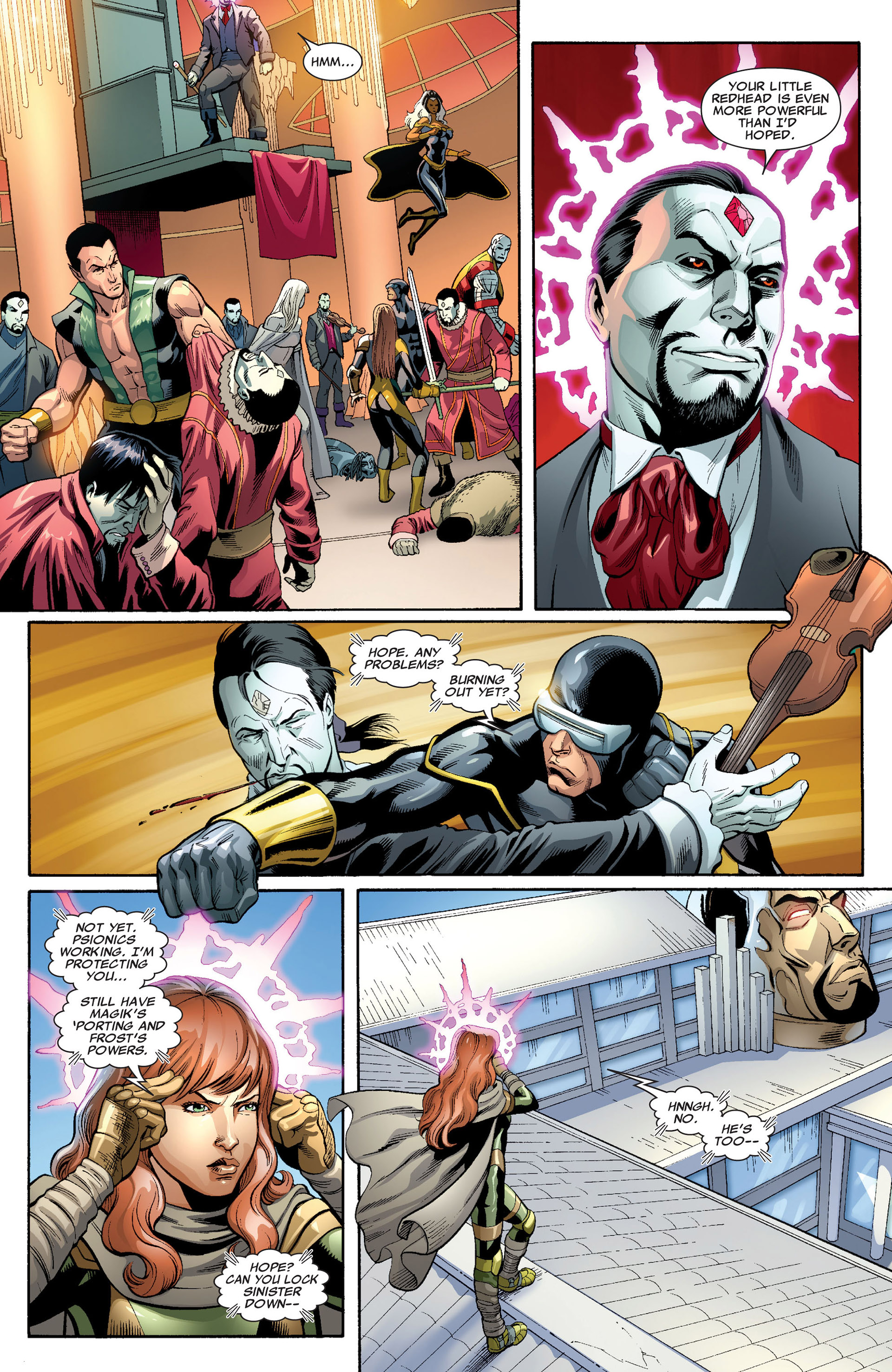 Read online Uncanny X-Men (2012) comic -  Issue #3 - 4