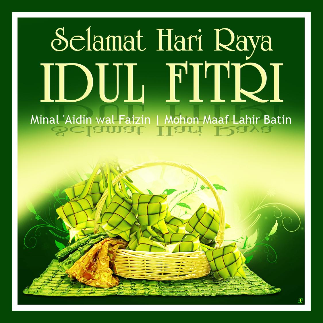 DP BBM Ucapan Lebaran Idul Fitri 1437 H 2016 Kochie Frog