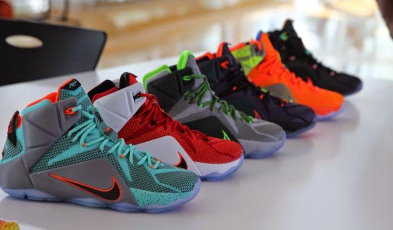 huge selection of af138 e2255 ... discount launch of nike lebron 12 colorways 0f631 3daae