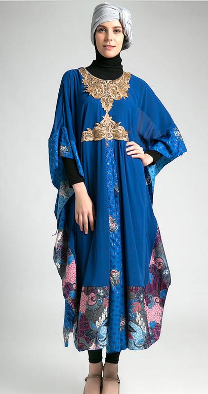 Contoh Dress Muslim Kaftan Muslimah