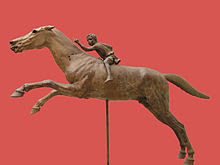 The jockey of Artemision National Archaeological Museum, Athens, Greece