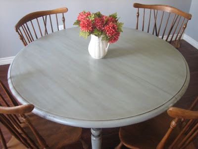 European Paint Finishes Ethan Allen Table Amp Chairs