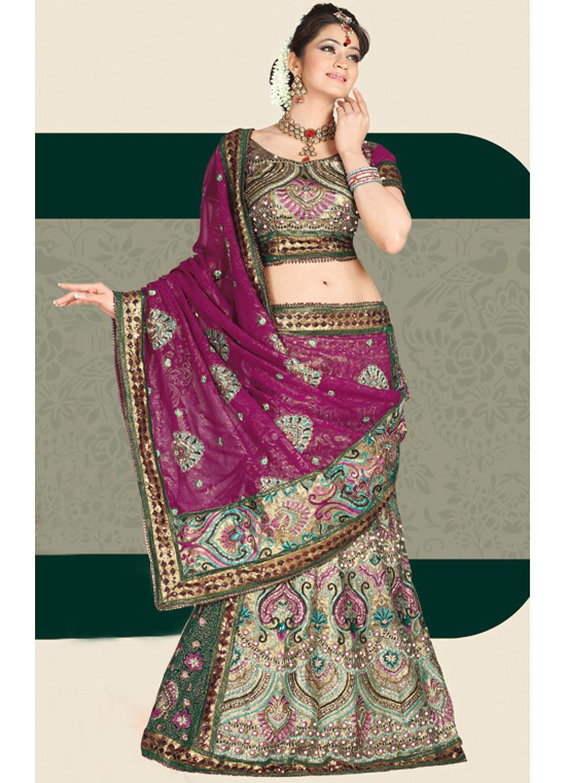 Fashion India Latest Lehenga Saree