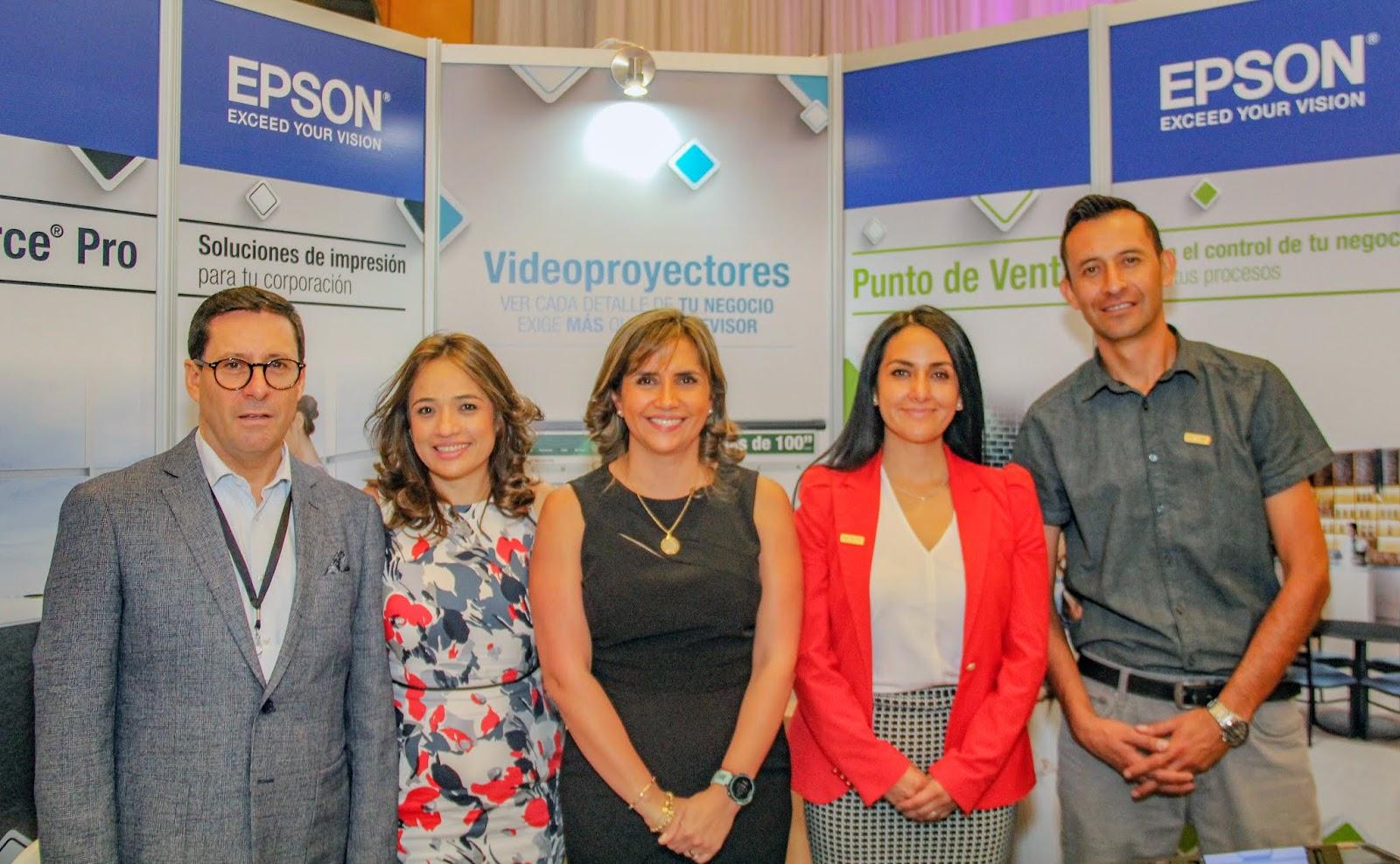 Epson presenta innovadoras soluciones en Intcomexpo Ecuador 2018