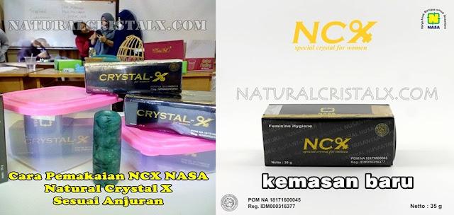 ncx nasa cara memakai cristal x sesuai medis bpom