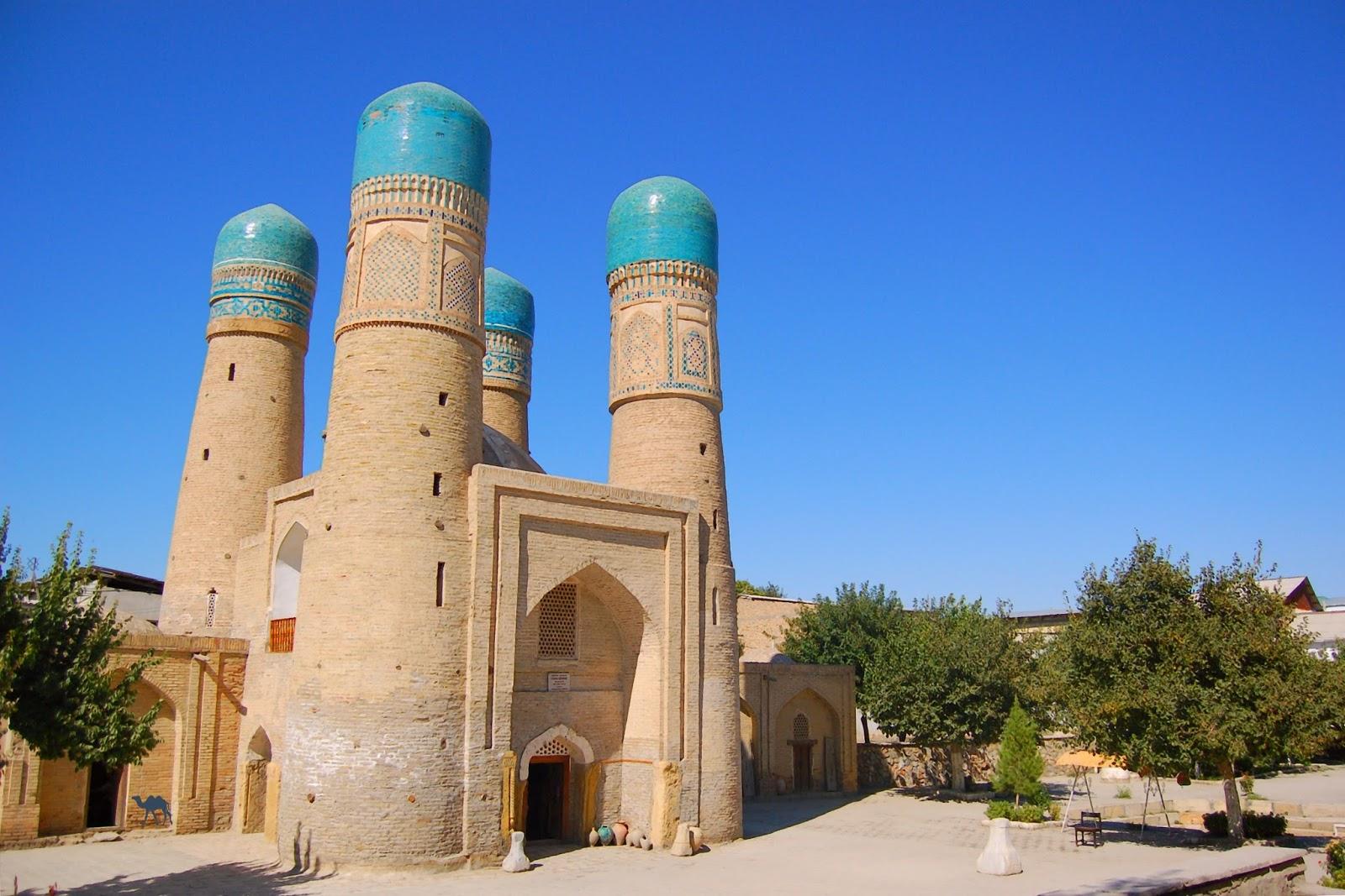 Le Chameau Bleu - Chor Minor à Boukhara Séjour en Ouzbékistan