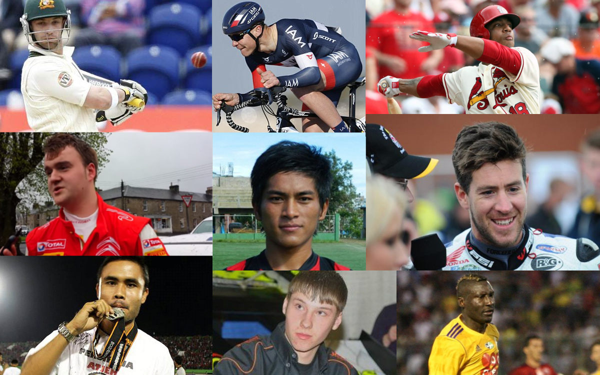 Athletes who died in their career 2014