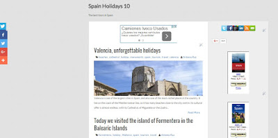 Spain Holidays 10, blog de turismo en España