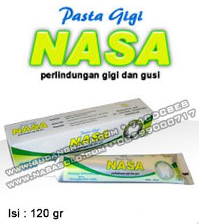PASTA GIGI NASA 120GRAM Rp.18.500,-