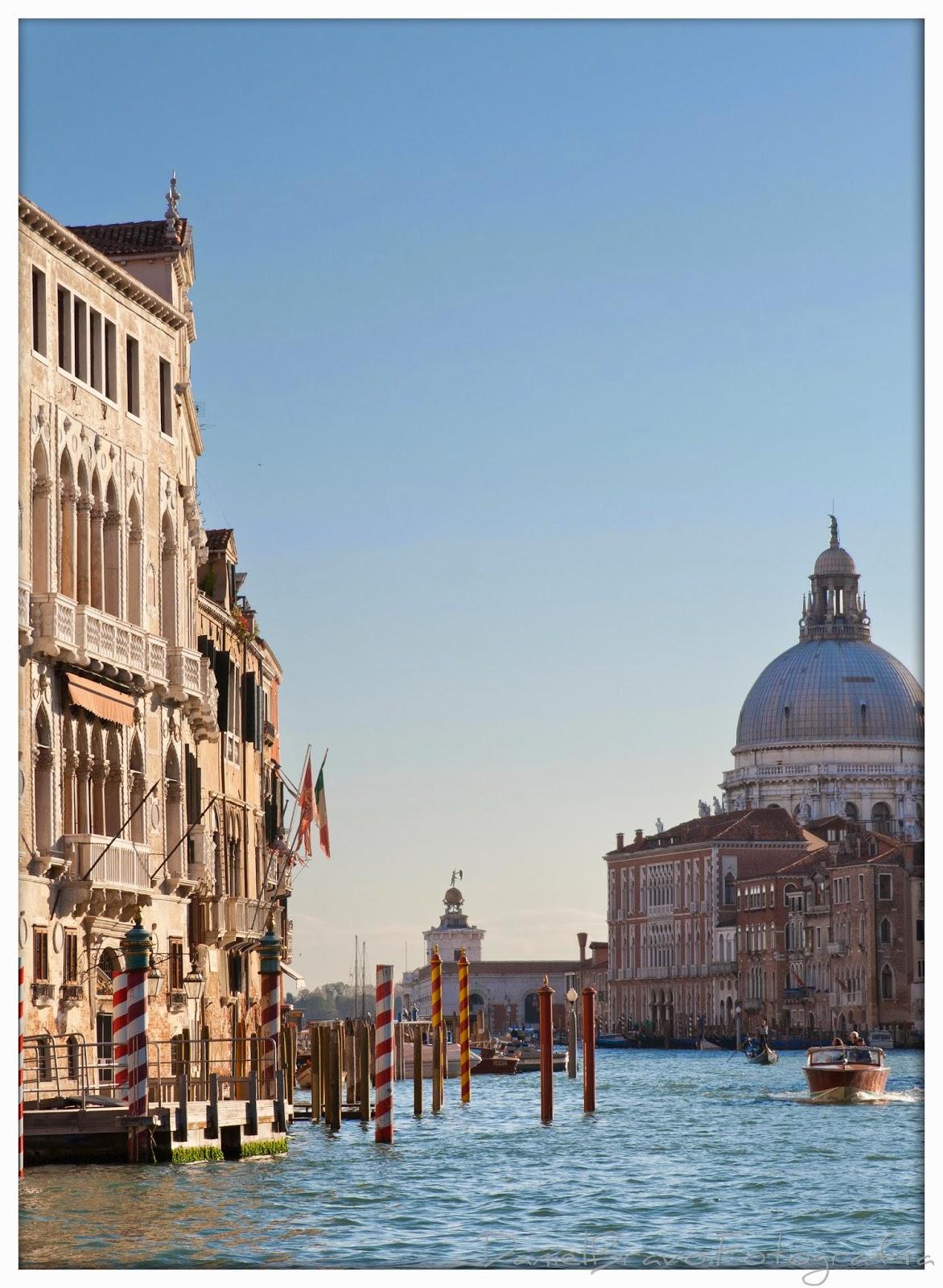 Vista del Gran Canal de Venecia