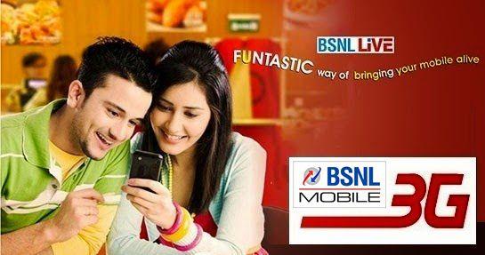BSNL 3G services in andhrapradesh telecom and telangana circles