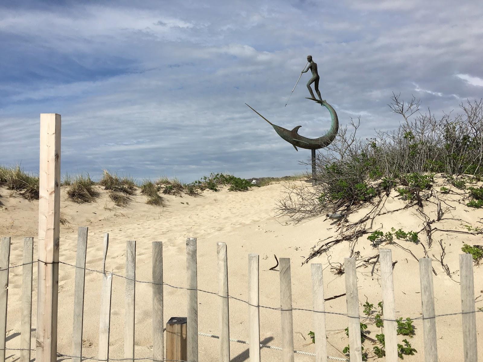 Beach Sculpture in Menemsha