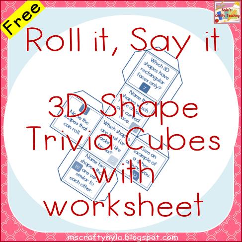 Free Properties of 3D Shapes Quiz