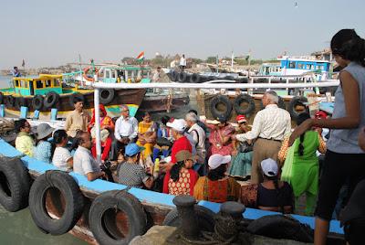 boat at okha