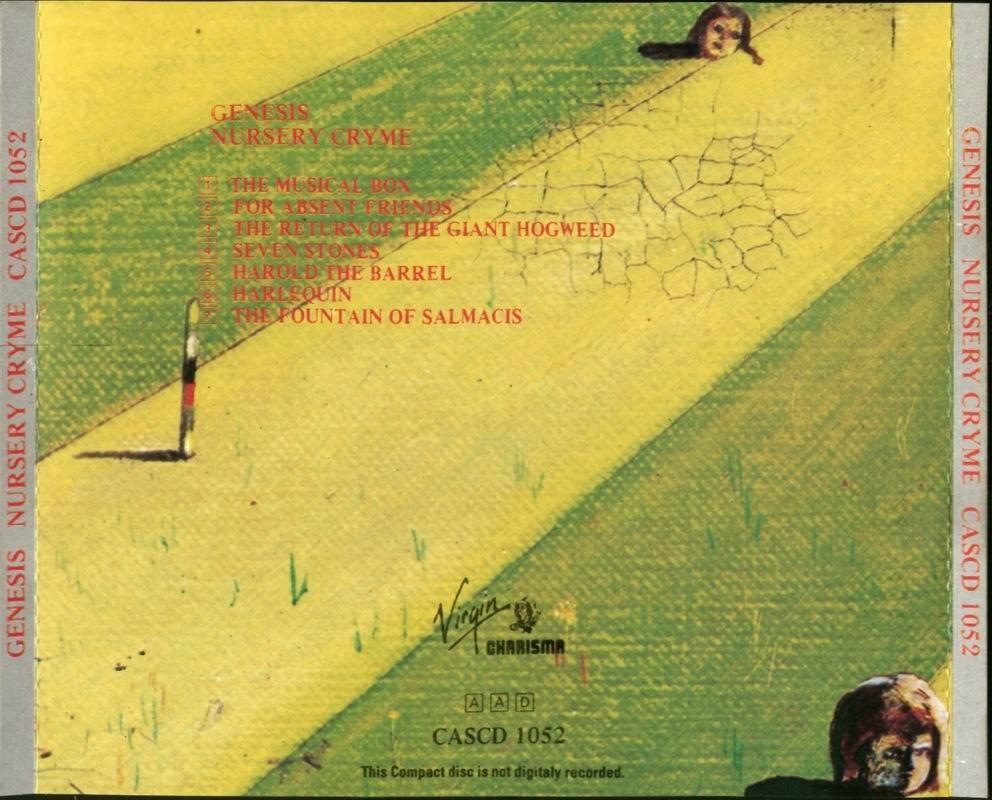 Genesis Nursery Cryme 1971
