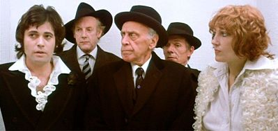 Jon Finch, Graham Crowden, George Coulouris, Basil Henson, Jenny Runacre