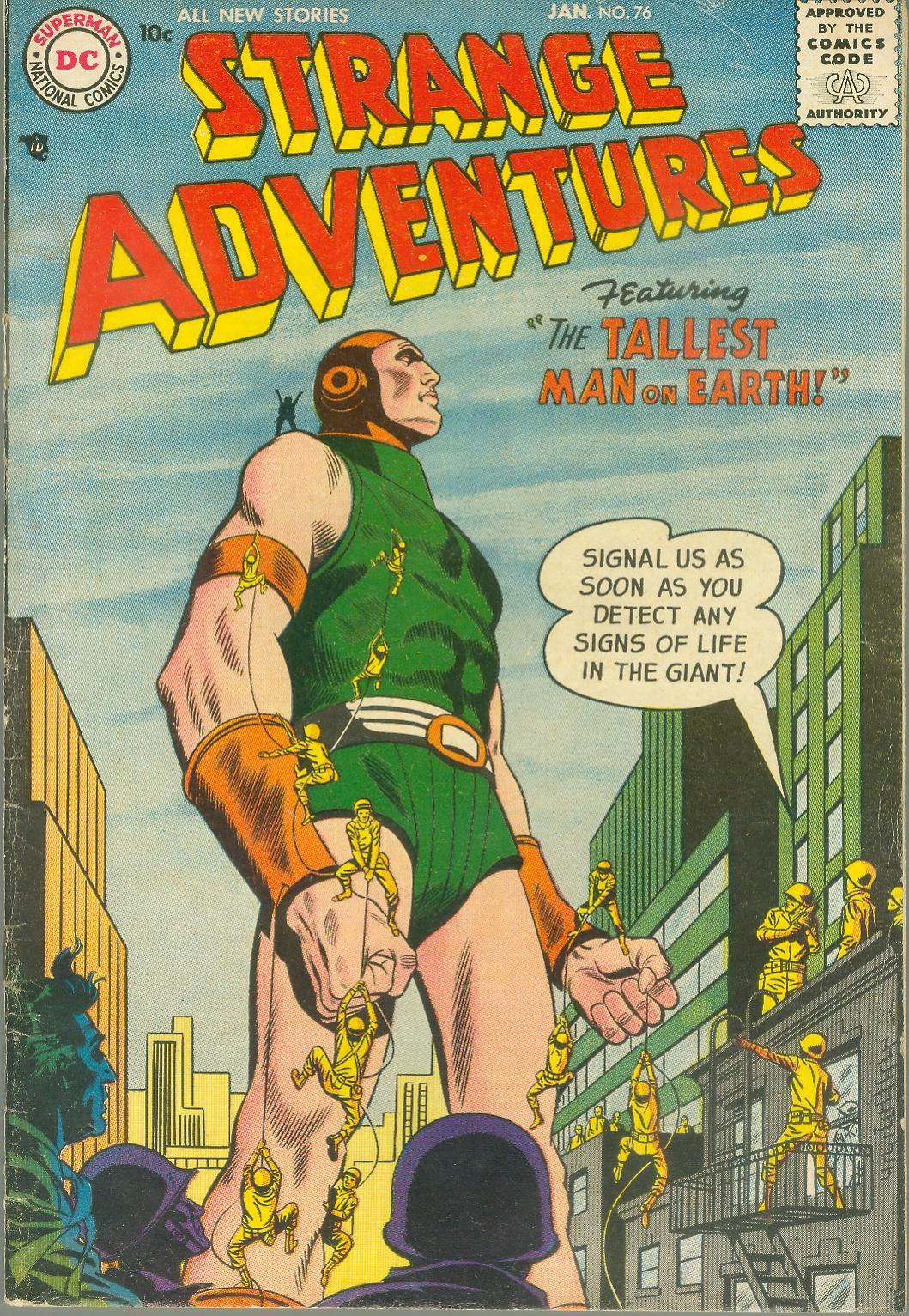Strange Adventures (1950) 76 Page 1