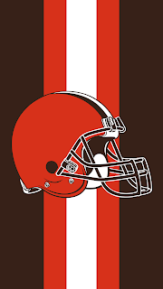 Wallpaper Cleveland Browns black para celular gratis