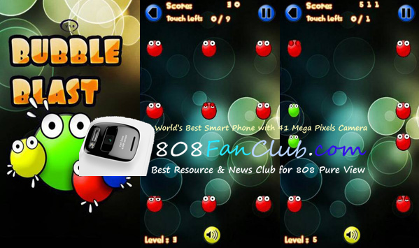 bubble breaker game for nokia n8