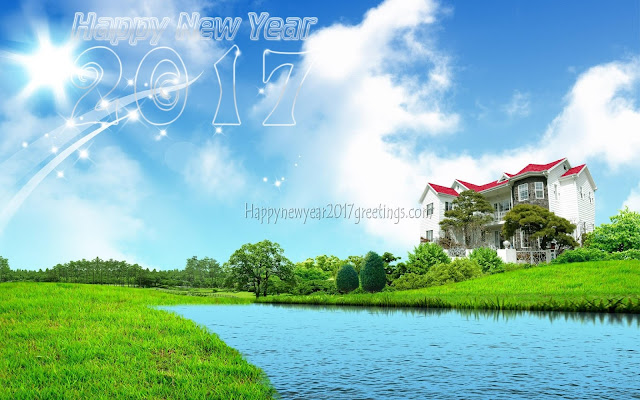 New Year 2017 HD Nature Background