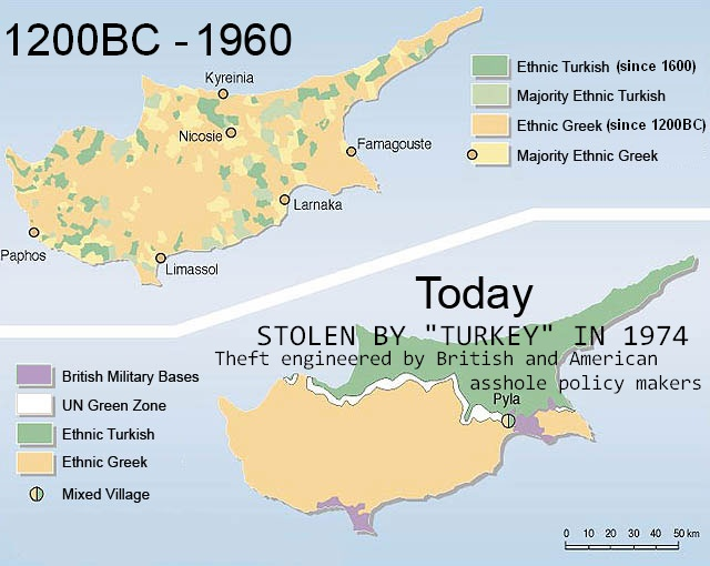 Cyprus Solution Revisited and Turkey39s Hypocrisy Unveiled