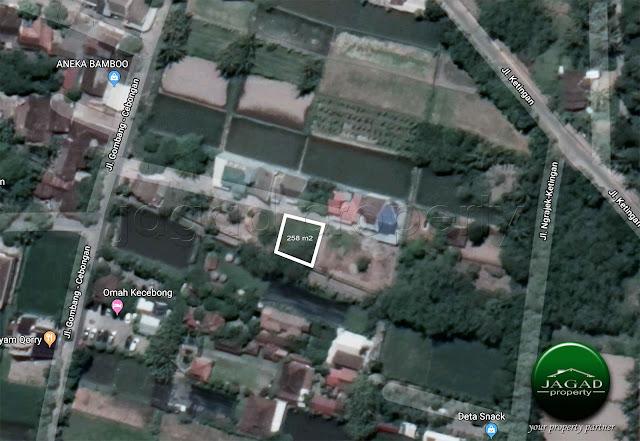 Tanah Pekarangan dekat Pasar Cebongan