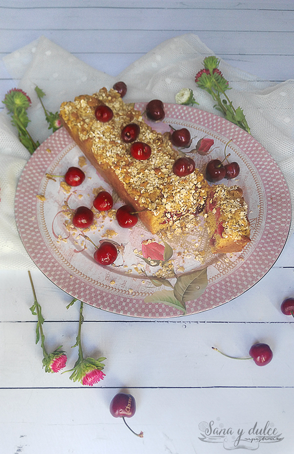 crumble-avena-cerezas-cherries